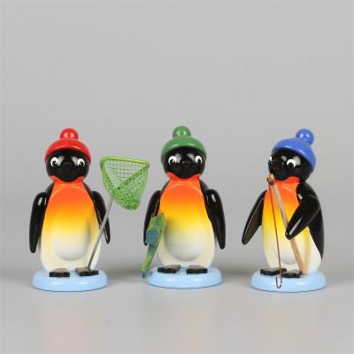 Pinguine Angler, 3-teilig, exklusiv
