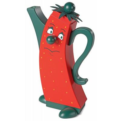 Moderne Räucherfigur Kanne Erdbeere