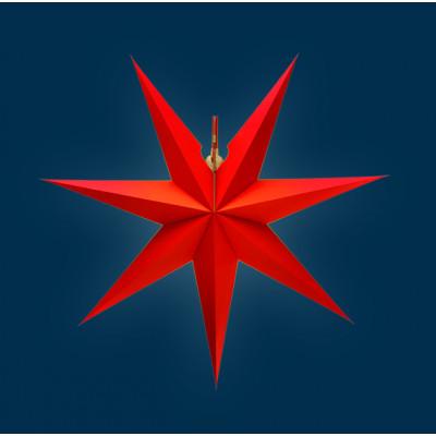 Erzgebirgischer Fensterstern rot, 43 cm
