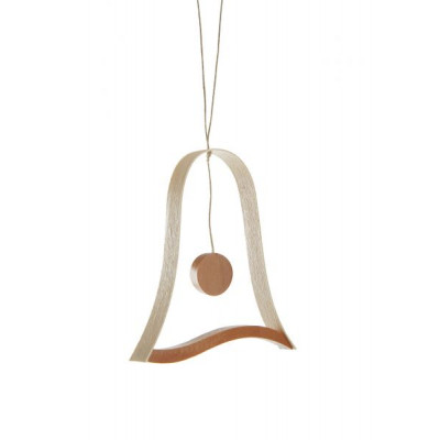 Baumbehang Holzdekor Glocke