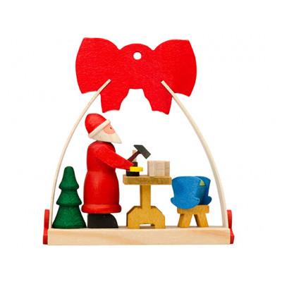baumbehang baum weihnachtsmann mit n hmaschine. Black Bedroom Furniture Sets. Home Design Ideas