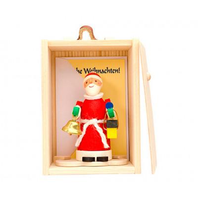 Glückwunschkästl Weihnachtsmann