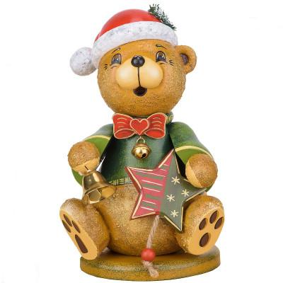 Räucherteddy Teddy Weihnachtsklaus