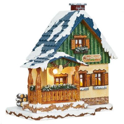 Winterkinder Winterhaus Försterei Forsthaus