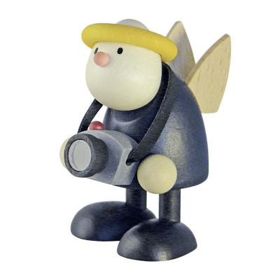 Engel Hans mit Fotoapparat