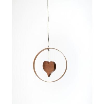 Baumbehang Holzdekor Herz