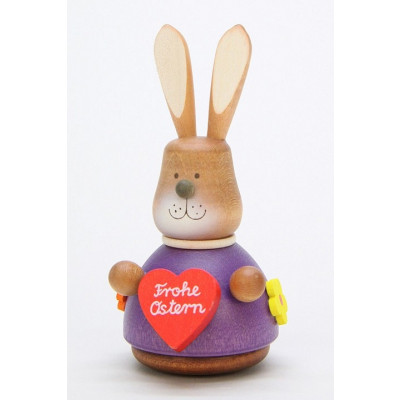 Wackelhase mit Herz Frohe Ostern