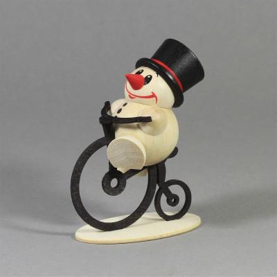 Cool-Man auf Hochrad