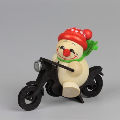 Cool-Man auf Motorrad