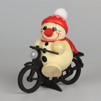 Cool-Man auf Fahrrad, groß
