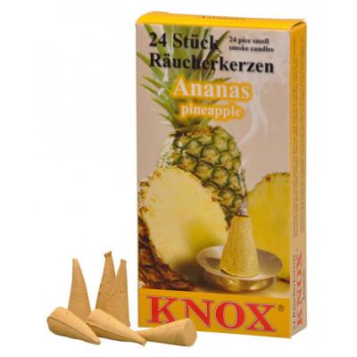 Räucherkerzen  - Gewürze - Ananas 35g, 24 Stk. Packung