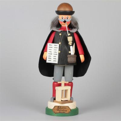 Räuchermännchen Johannes Gutenberg