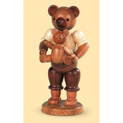 Bärenvater mit Kind
