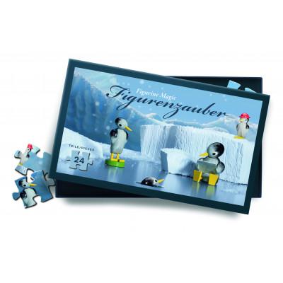 Puzzle Pinguine im Eis, 24 Teile
