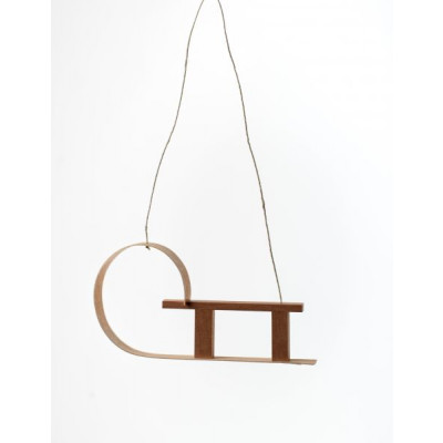 Baumbehang Holzdekor Schlitten