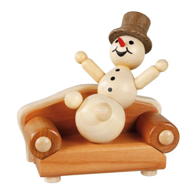 Schneemann auf dem Sofa