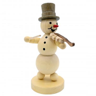 Schneemannmusikant mit Geige