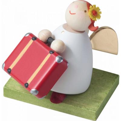 Schutzengel mit Koffer