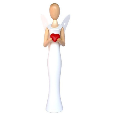 Sternkopf-Engel mit Herz, 50 cm