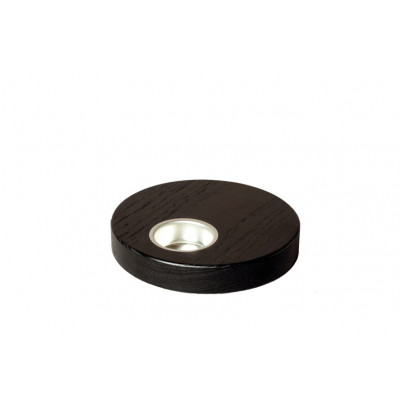 Teelichthalter 13,5 cm dunkel