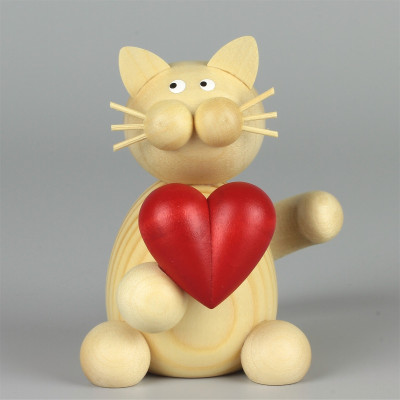 Kater Moritz mit Herz