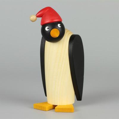 Pinguinfrau mit Mütze
