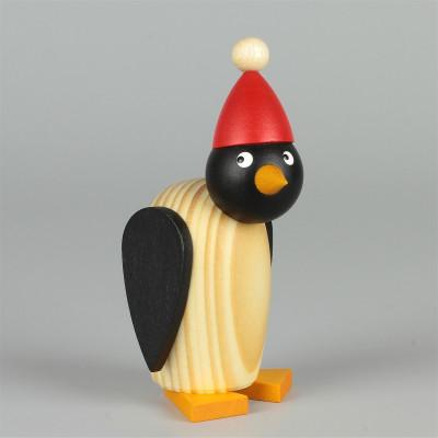 Pinguin mit Mütze klein