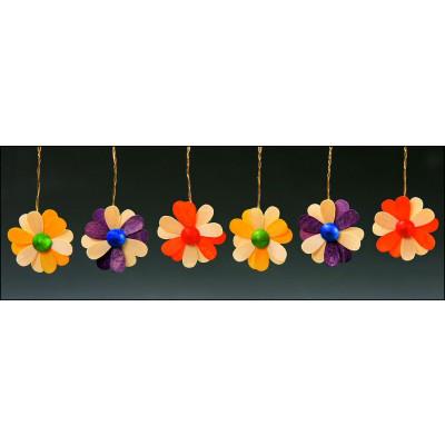 Baumbehang Blüten, zweifarbig, 6-teilig