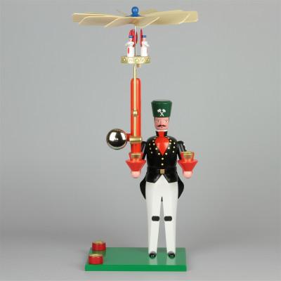 Seiffener Glockenbergmann, 40 cm