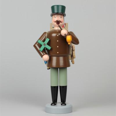 Seiffener Räuchermann Spielzeughändler