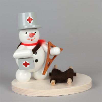 Schneemann Sanitäter