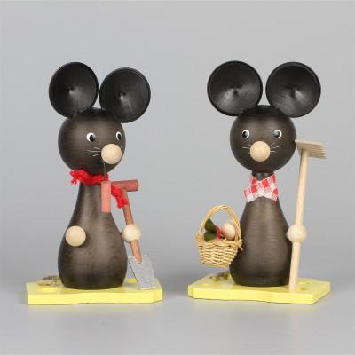 Mäuse Mama und Papa