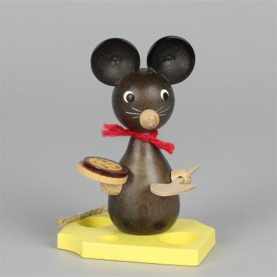 Mäusekind mit Pizza