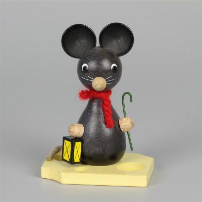 Mäusekind mit Laterne