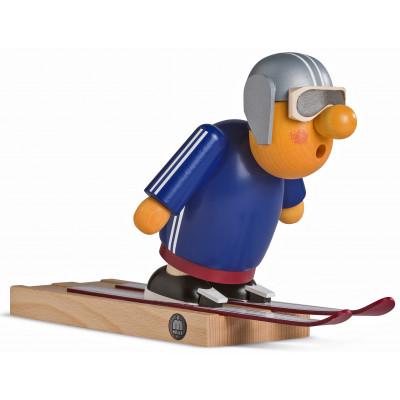 Räuchermännchen Müllerchen Skispringer