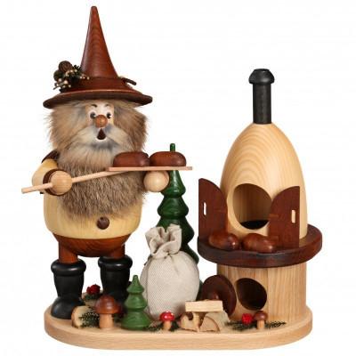 Räuchermann Waldwichtel Bäcker