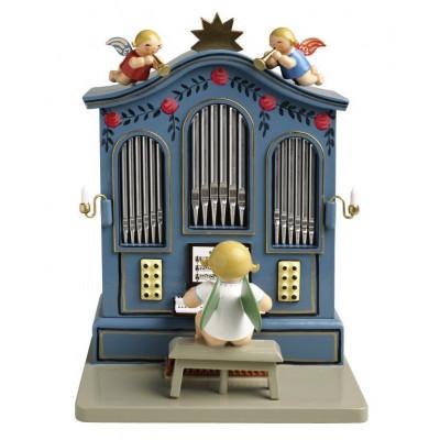 Orgel mit Musik Stille Nacht