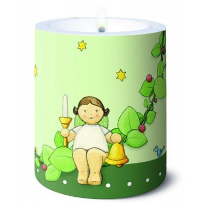 Kerze Christbaumschmuck